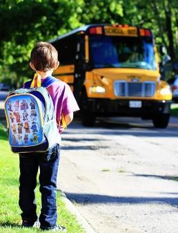 school bus route tracking technique