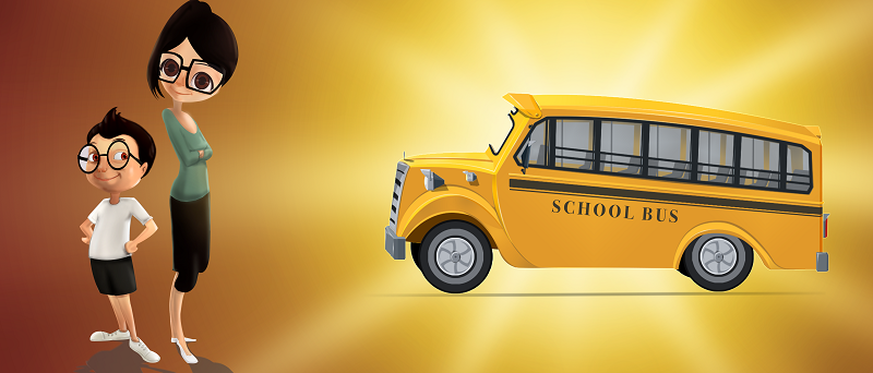 Benefits to parents in tracking their kid's school bus